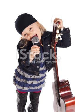 Little গিটার girl