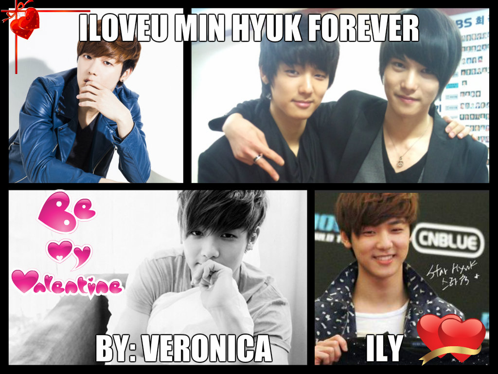 my valentine gift for min hyuk