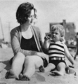 norma jeane and mother  - marilyn-monroe photo