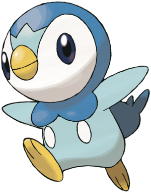 Dawn's partner in crime PIPLUP