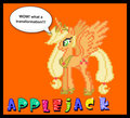 princess applejack - my-little-pony-friendship-is-magic fan art