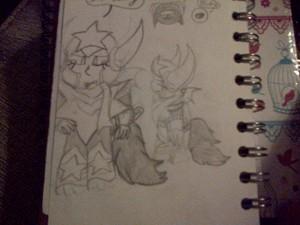 Sagittarius man (sketches/ forms)