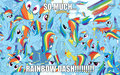 so much dash!! - my-little-pony-friendship-is-magic fan art