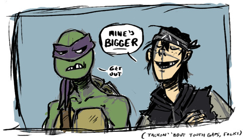 2012 Teenage Mutant Ninja Turtles wallpaper containing anime entitled TMNT ~