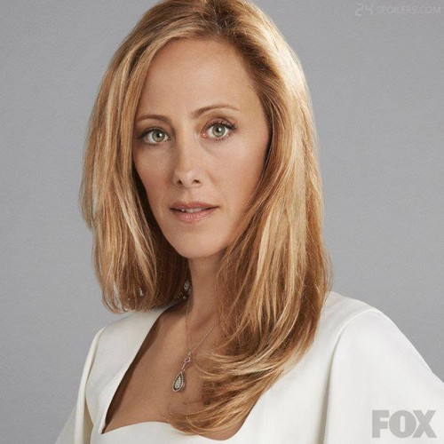 24 দেওয়ালপত্র containing a portrait entitled Kim Raver as Audrey Raines - 24:LAD