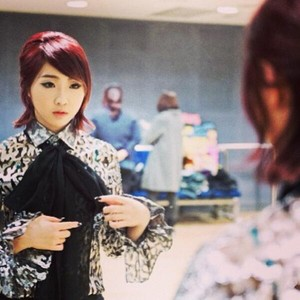 "Minzy's instagram Update: ""My Ribbon :)"" (131127)"