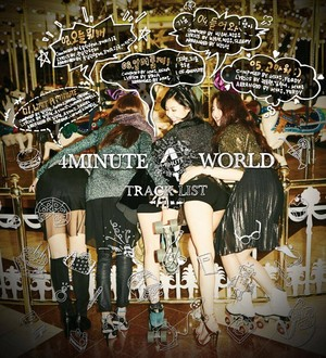 4minute '4minute World' Tracklist