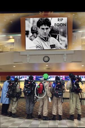 A memorian to Dr. Egon Spengler, 1944-2014