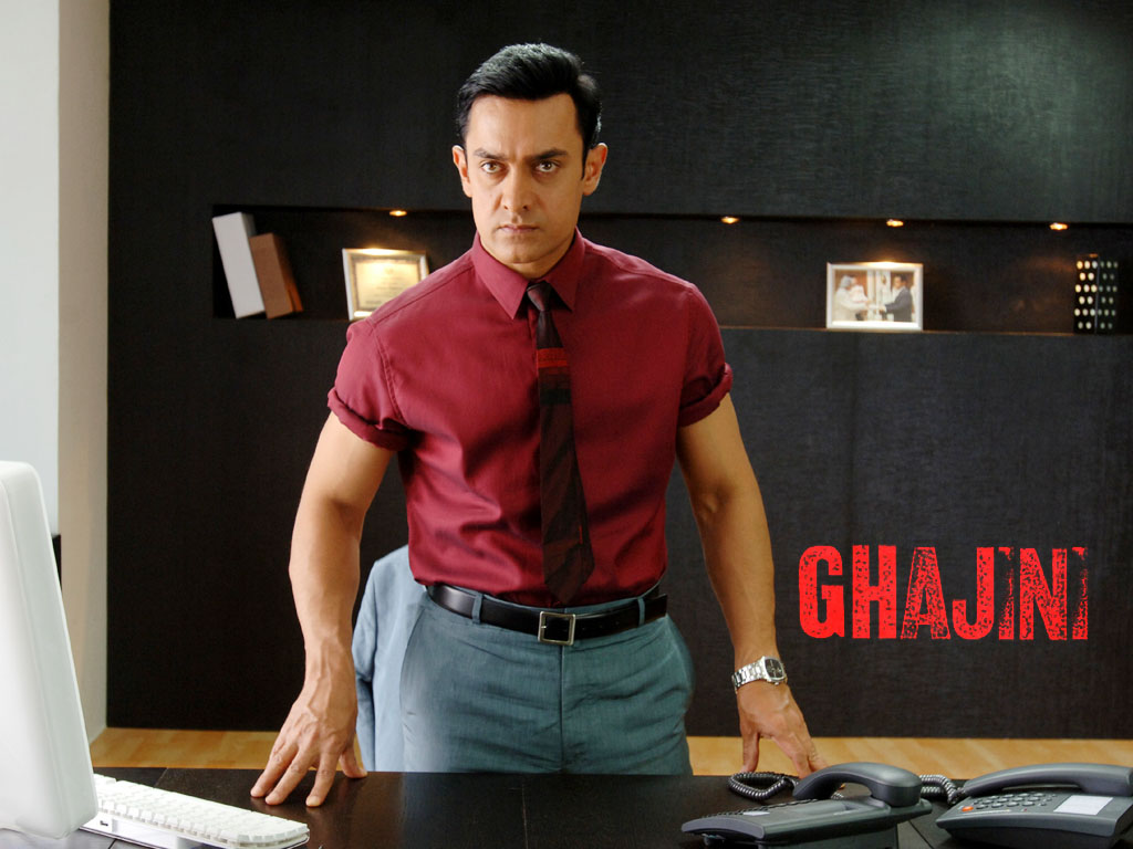 Ghajini Aamir Khan Wallpapers