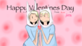 FinnOnna valentines day - adventure-time-with-finn-and-jake fan art