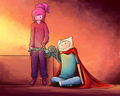 She made it - adventure-time-with-finn-and-jake photo
