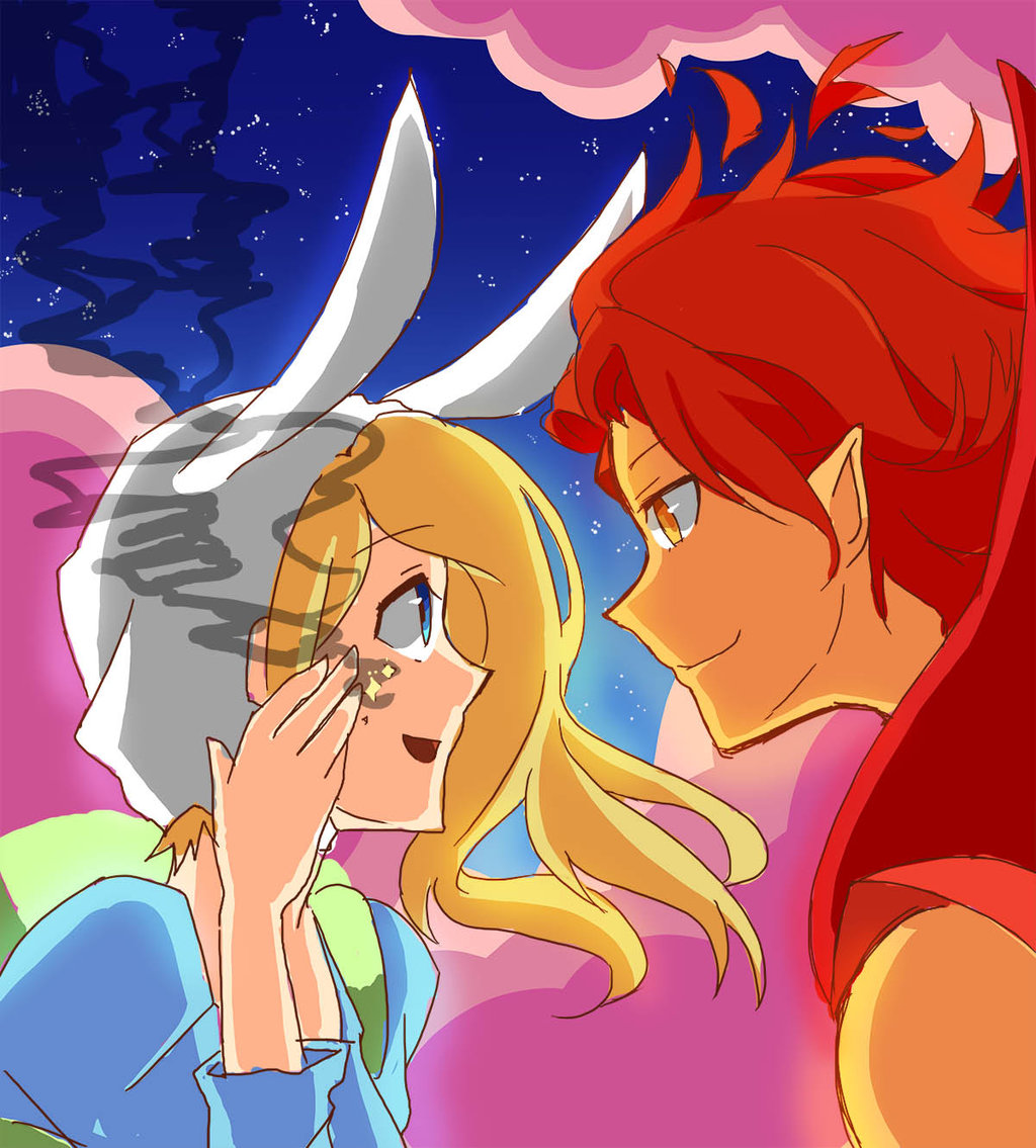 adventure time with fionna and cake flame prince