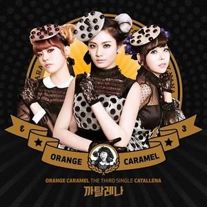 "oranje karamel The 3rd Single ""Catallena"""