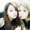 Jooyeon and Lizzy - after-school photo