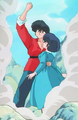 Ranma Protecting Akane - akane-tendo photo
