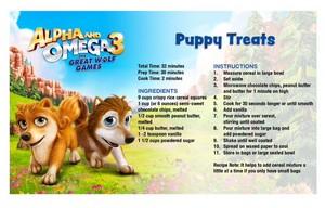 Puppy Treats (Recipe)