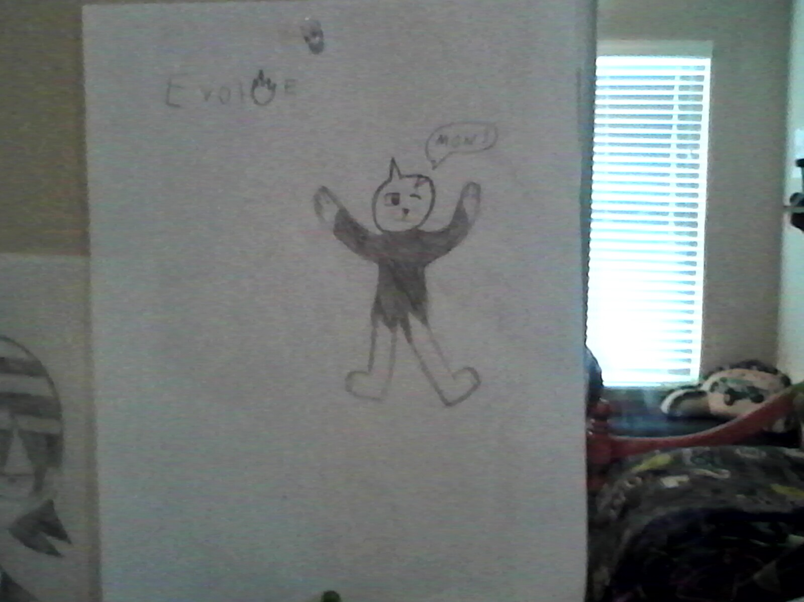 My anthro cat drawing