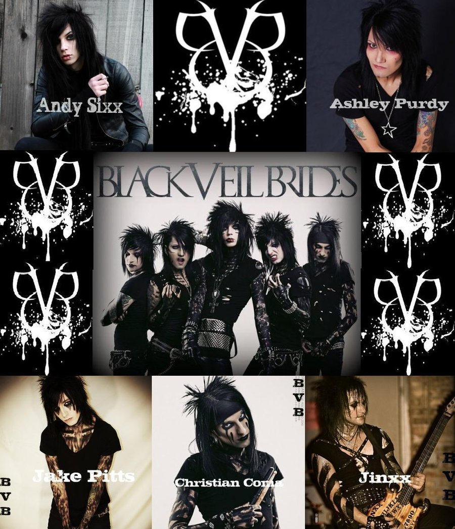 black veil brides band members names pictures to pin on