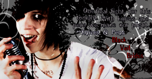 Andy 'Sixx' Biersack BVB images Knives And Pens HD ...