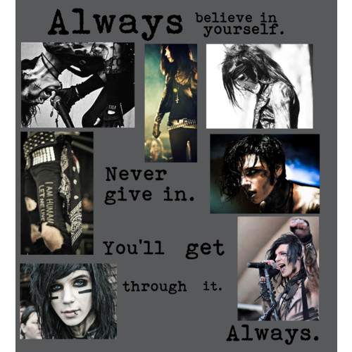 andy sixx biersack bvb images andy biersack quote wallpaper and