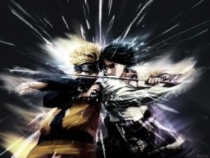 Sasuke and 나루토