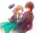 Shin x Heroine - anime fan art