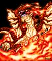 Igneel, The Fire Dragon - anime fan art
