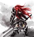 Erza Scarlet Purgatory Armor - anime fan art