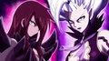Titania Erza and Demon Mirajane - anime fan art