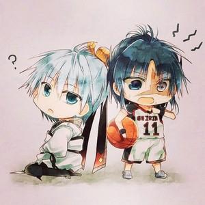 Kuroko and Hakuryuu