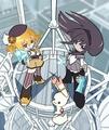 Puella Magi Madoka Magica // Panty&Stocking with Garterbelt - anime fan art