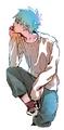 Kuroko Tetsuya - anime fan art