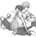 Izaya and Shizuo - anime fan art