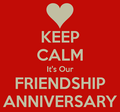 Happy 3rd Friendship Anniversary!!! ♥