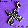 Crossed Arrows (charm)...Friendship - anj-and-jezzi-the-aries-twins fan art