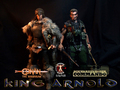 Calvin's Custom one sixth scale Conan and Commando