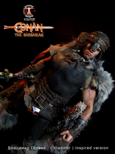 Arnold Schwarzenegger Hintergrund called Calvin's Custom one sixth scale Conan
