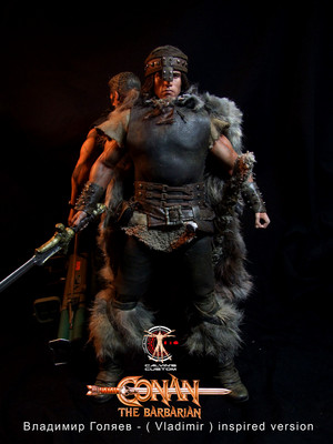 Calvin's Custom one sixth scale Conan