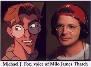 michael j zorro, fox as milo james thatch