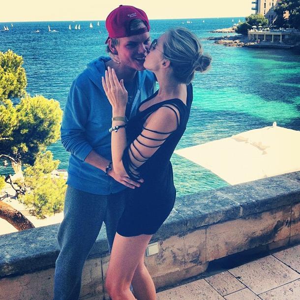Avicii and Ex Emily Goldberg