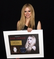 Gold Certification for ''Avril Lavigne'', Korea (Feb 9)