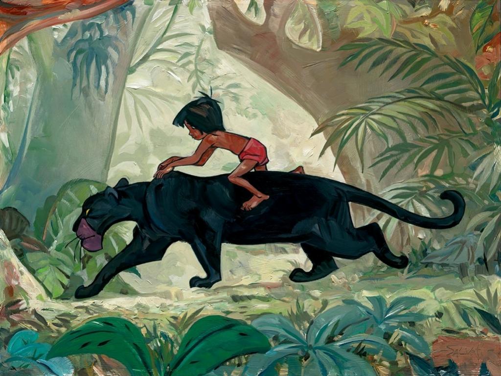 Bagheera images Bagheera and Mowgli HD wallpaper and ...