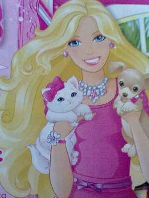 Barbie and cute animals
