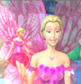 Elina's Rose Pink Fairy Outfit  - barbie-movies fan art