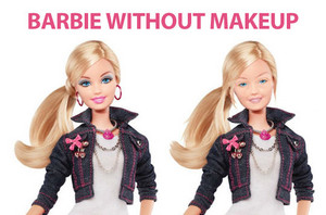 Barbie WITHOUT MAKE-UP ^^