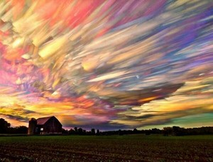 a painted sky