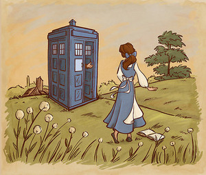 belle and dr. who