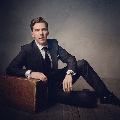 Benedict Cumberbatch wallpaper containing a business suit, a suit, and a well dressed person entitled Vanity Fair Photoshoot