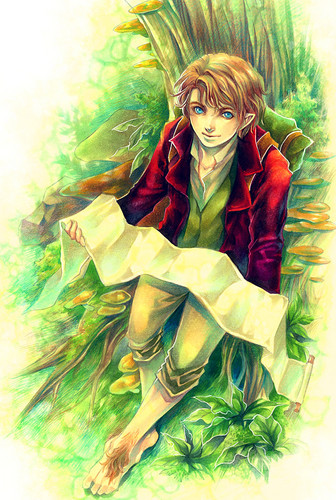 Bilbo Baggins Wallpaper Possibly Containing Anime Called Bilbo Baggins