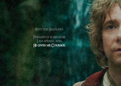 Bilbo Baggins Wallpaper Possibly With A Concert And A Portrait Titled Bilbo    Gives Me Courage